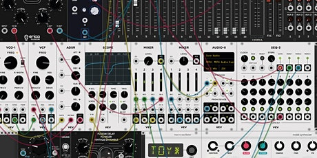 MODULAR SYNTHESIS & SOUND DESIGN TOOLS w/ Adam Winchester - 6 week course Tickets