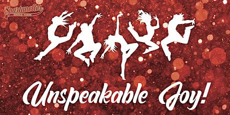 Spartanettes Showcase: Unspeakable Joy tickets