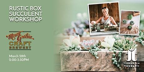 In-Person Rustic Box Workshop at Mount Gretna Craft Brewery tickets