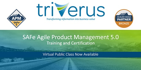 SAFe® Agile Product and Solution Management - Virtual Training tickets