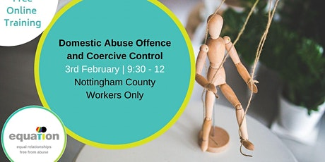 Domestic Abuse and Coercive Control (County workers) tickets