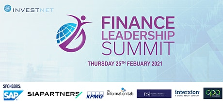 Finance Leadership Summit 2021 Virtual Event tickets