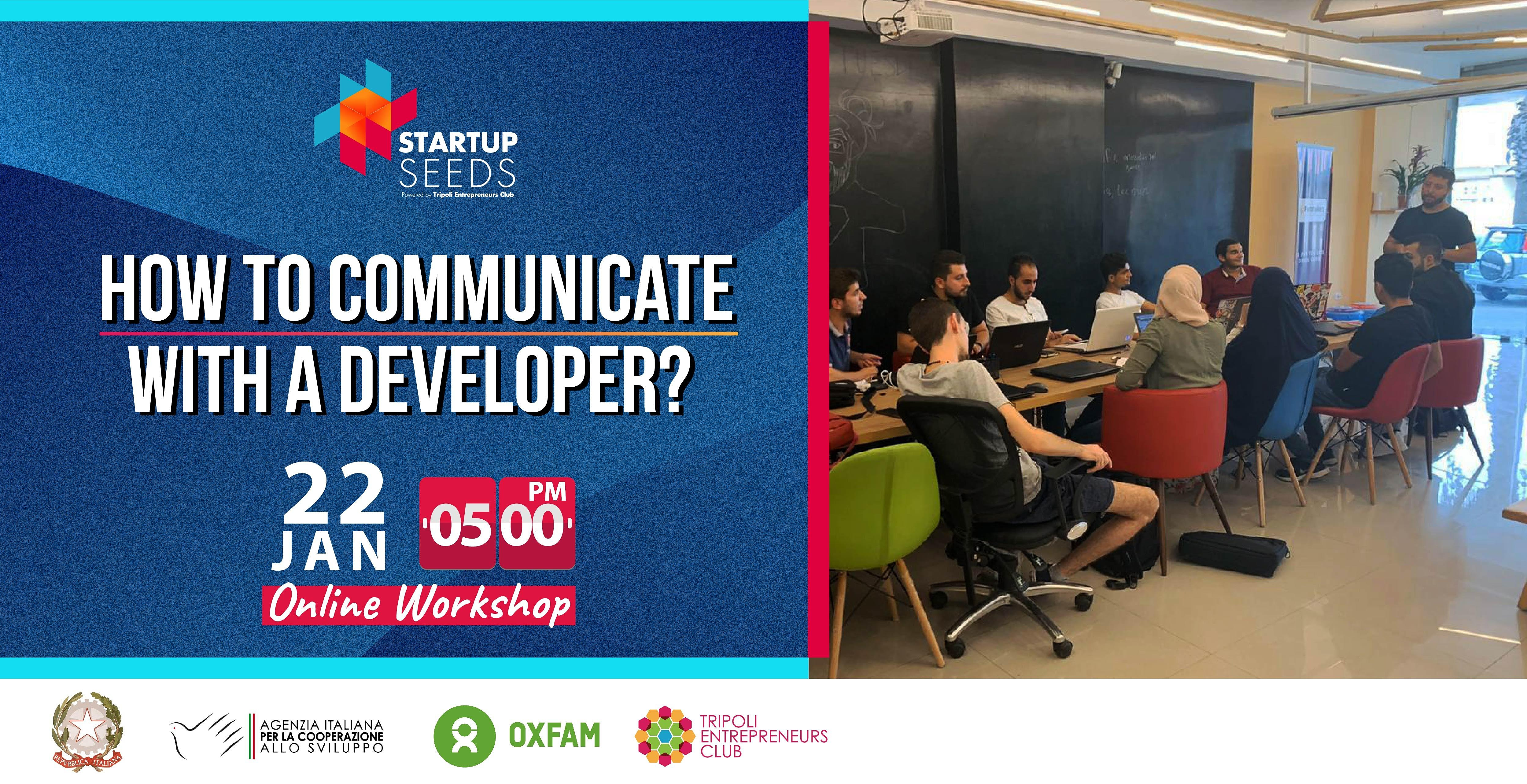 How To Communicate With A Developer?