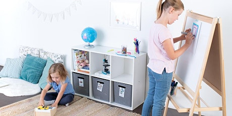 The Playroom Edit: Create an Engaging, Uncluttered Play Space at Home tickets