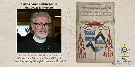 Crosiers, and Mitres, and Tiaras: A Journey Through Ecclesiastical Heraldry tickets