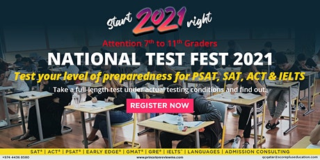National Test Fest 2021 tickets