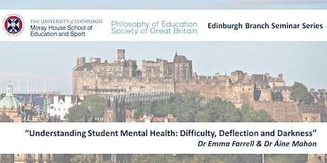 Understanding Student Mental Health: Difficulty, Deflection and Darkness tickets