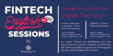 Fintech English  Sessions entradas