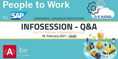 BeCode X SAP Infosessie voor organisaties/vzw's en bedrijven