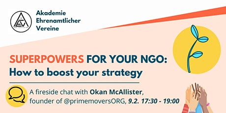 Superpowers for your NGO: How to boost your strategy with Okan McAllister tickets