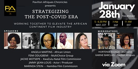 Strategizing the Post-Covid Era for the Film Industry in Africa & Diaspora tickets