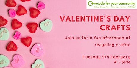 Valentine'd Day Crafts tickets