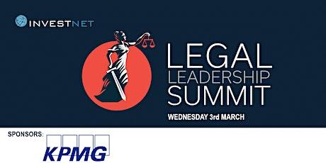 Legal Leadership  Virtual Summit 2021 tickets