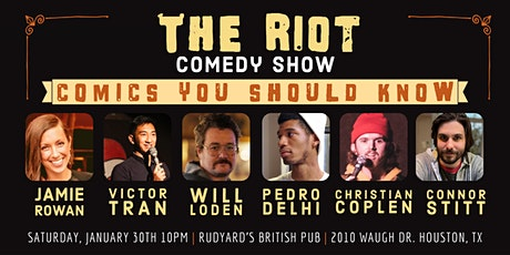 The Riot - A Standup Comedy Show - Comics You Should Know! tickets