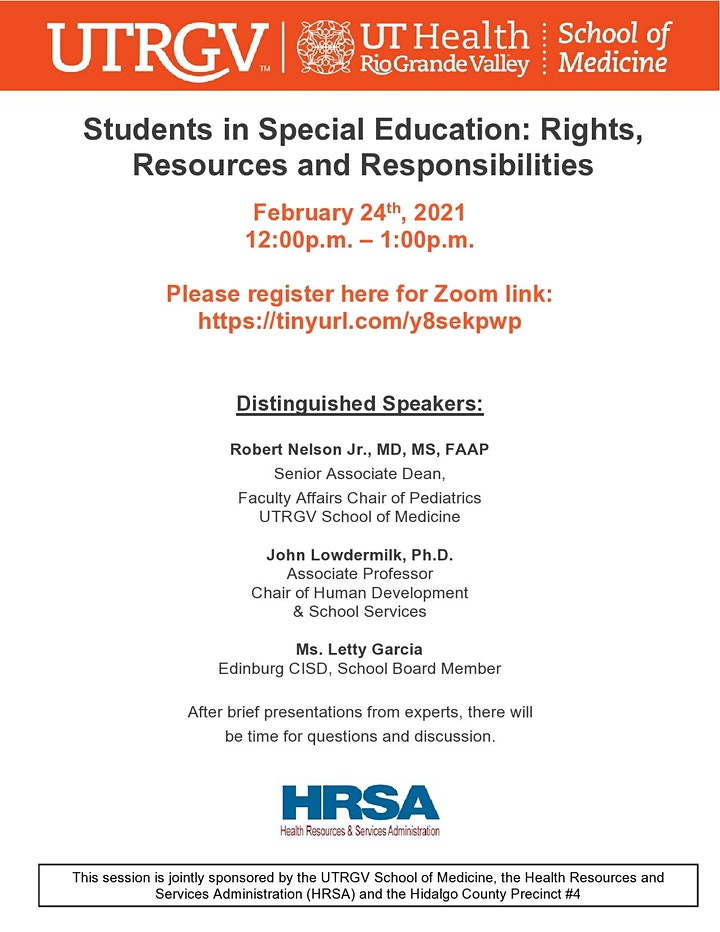 Students in Special Education: Rights, Resources and Responsibilities image