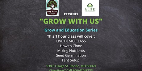 Grow with Us - Reserve your Spot Today! - Cloning tickets