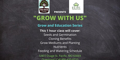 Grow with Us - Reserve your Spot Today! Starting the Garden tickets