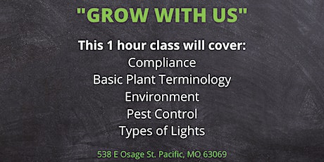 Grow with Us - Reserve your Spot Today! Compliance tickets