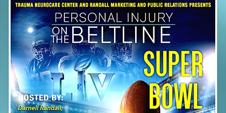 Trauma Neuro:  Personal Injury on the Beltline & Buckhead Super Bowl Mixer tickets
