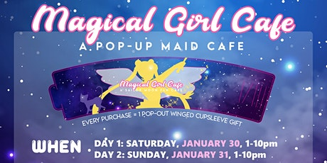 Magical Girl Maid Cafe - DAY 2 (SUNDAY) tickets
