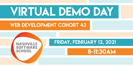 NSS Virtual Demo Day: Web Development Cohort 43 tickets