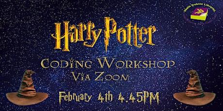 Harry Potter Coding Workshop tickets