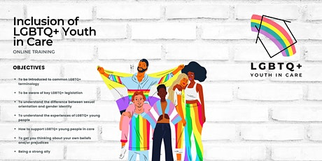 LGBTQ+ Youth in Care 16.09.21 tickets