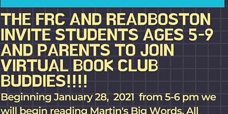 Virtual Book Buddies: Martin's Big Words tickets