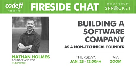 Fireside Chat: Building a Software Company as a Non-Technical Founder tickets
