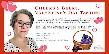 Cheers & Beers, Valentine's Day Tasting tickets