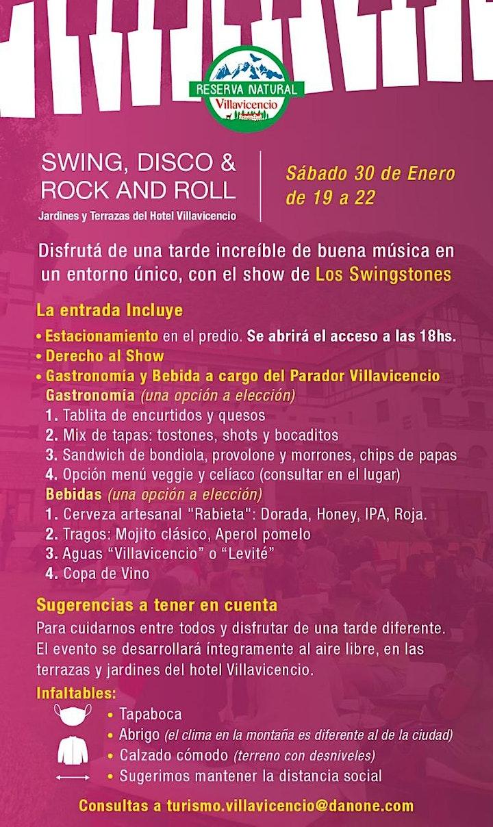 Imagen de Atardecer de Swing, Disco y Rock & Roll en Jardines del Hotel Villavicencio