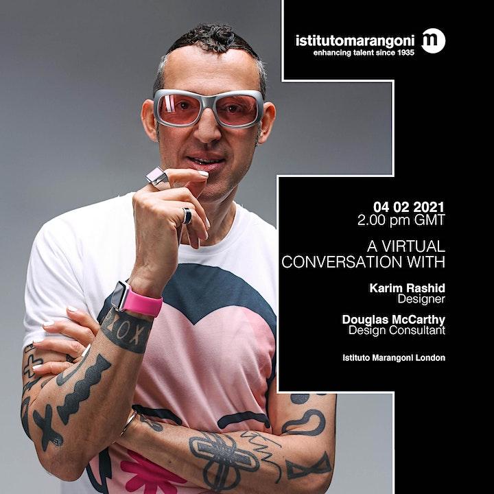 A Virtual Conversation With Karim Rashid image