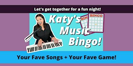 Katy's Music Bingo tickets