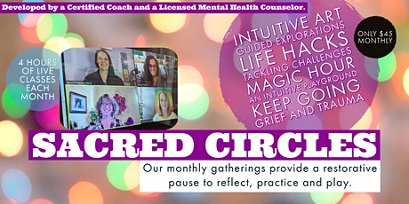 Intuitive Art - Sacred Circle Series (virtual event) tickets