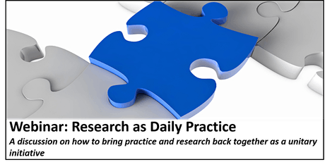 Webinar: Research as Daily Practice tickets