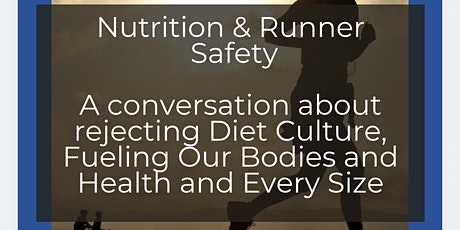 What the Heck Does Nutrition have to do with Runner Safety? tickets