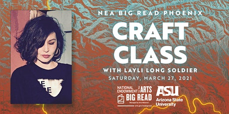 NEA Big Read Phoenix: Craft Class with Layli Long Soldier tickets