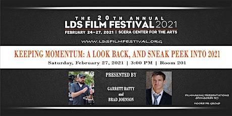 Filmmaking Presentations - Garrett Batty & Brad Johnson tickets