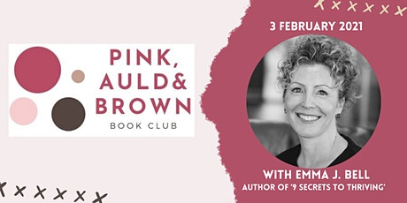 Pink, Auld & Brown Book Club with Emma J Bell - 3 February 2020 tickets