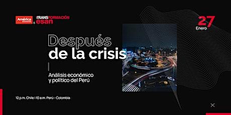 Análisis económico y político del Perú después de la crisis entradas