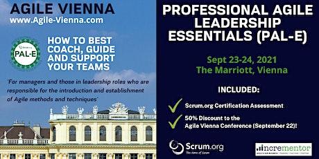 Agile Vienna | Certified Training | Professional Agile Leadership (PAL-E) Tickets