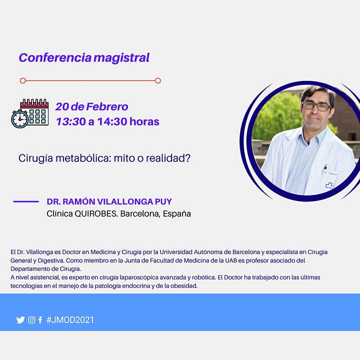 Imagen de 1as Jornadas Multidisciplinarias de Obesidad y Diabetes