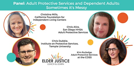Adult Protective Services and Dependent Adults: Sometimes it's Messy tickets