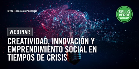 Sello verde: Creatividad, innovación y emprendimiento social... tickets