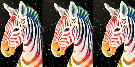 Easely Does It - Rainbow Zebra- with Toni tickets