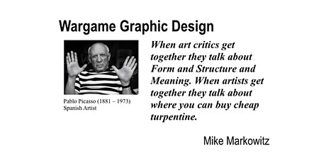 Wargame Graphic Design w/ Mike Markowitz tickets