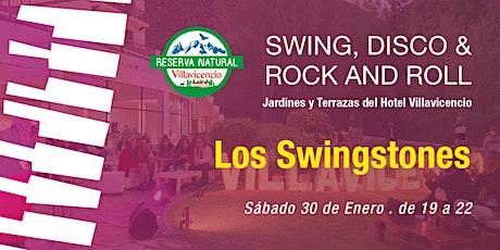 Atardecer de Swing, Disco y Rock & Roll en Jardines del Hotel Villavicencio entradas