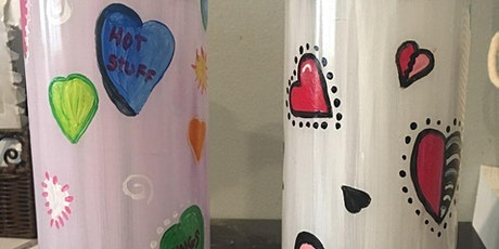 Valentines Vase Paint Class 1:00pm@Ridgewood Winery Birdsboro tickets