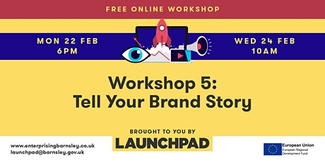Workshop 5 - Tell Your Brand Story tickets