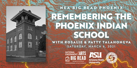 NEA Big Read Phoenix: Remembering the Phoenix Indian School tickets